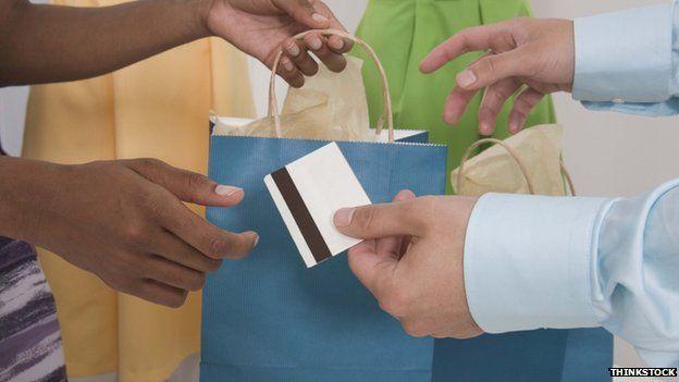 A retail transaction