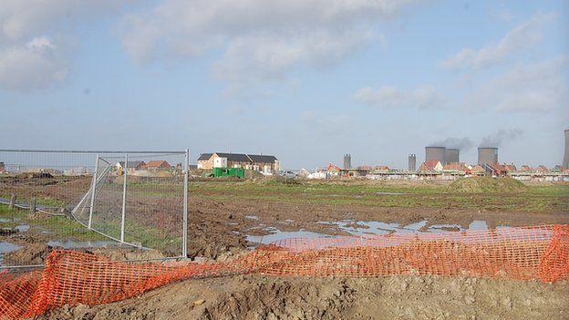 Great Western Park estate under construction