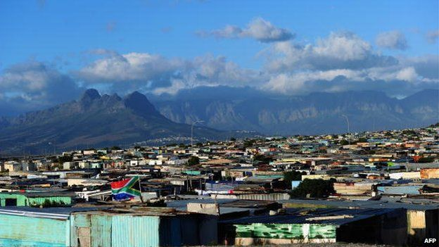 A general view of Khayelitsha township near Cape Town in South Africa - 2010