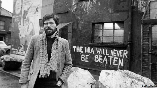 Image result for photo of gerry adams