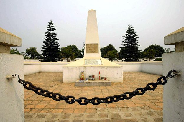 Dien Bien Phu memorial to French soldiers who died in battle there