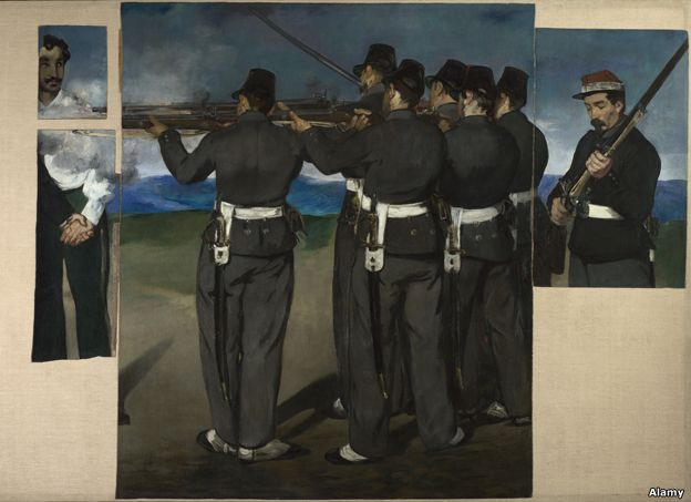 The Execution of Maximilian by Manet