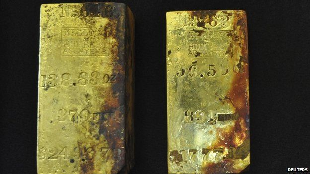 Treasure Found On Us Ship Of Gold Bbc News