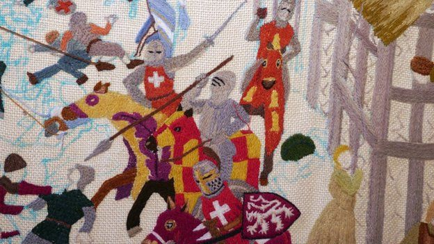 Battle of Lewes tapestry