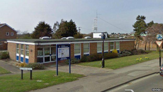 Southwold police station