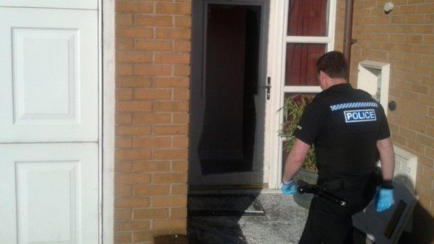 Police raid at house in Hadley, Telford