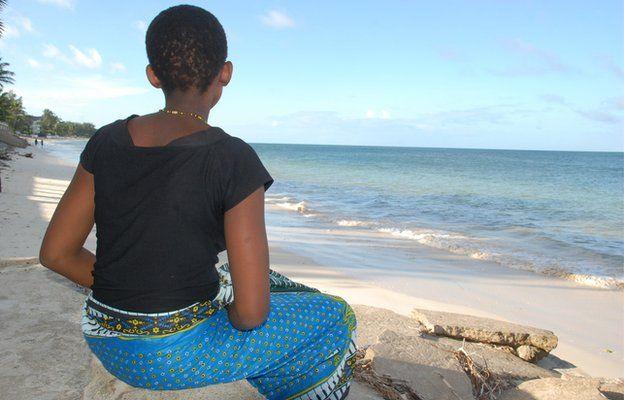 A girl in Malindi, Kenya (May 2014)