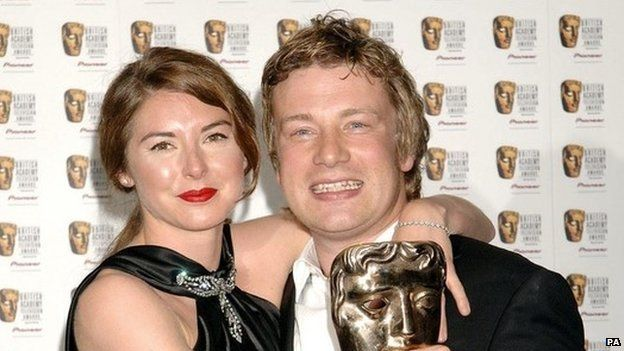 Jamie and Jules Oliver