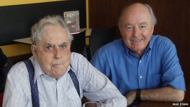 Sir Jack Brabham and John Crawford