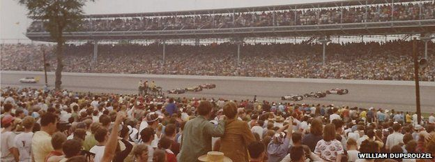 The start of the Indy 500, May 1971