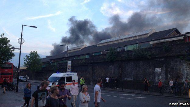 Fire in Camden