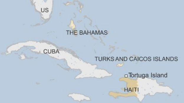 Haiti Migrants Risk Sea Journey For Better Prospects BBC News - Haiti and the us map