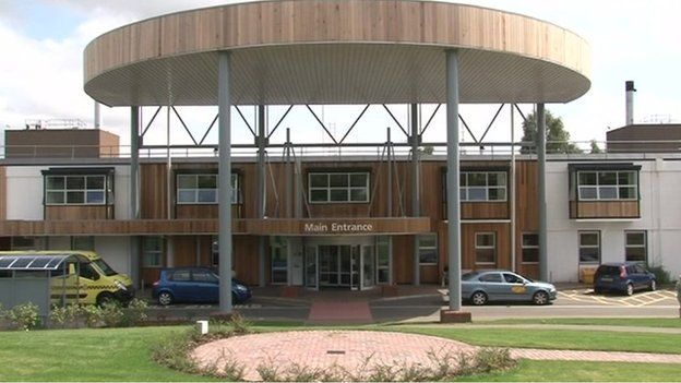 Hinchingbrooke Hospital main entrance