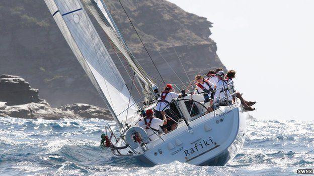 Cheeki Rafiki yacht pictured during Antigua Sailing Week 2014