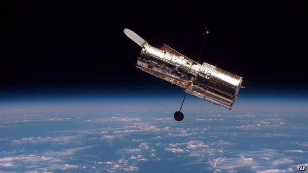 File photo: The Hubble Space Telescope 19 February 1997