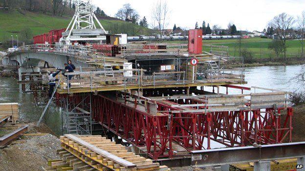 Laufenburg bridge