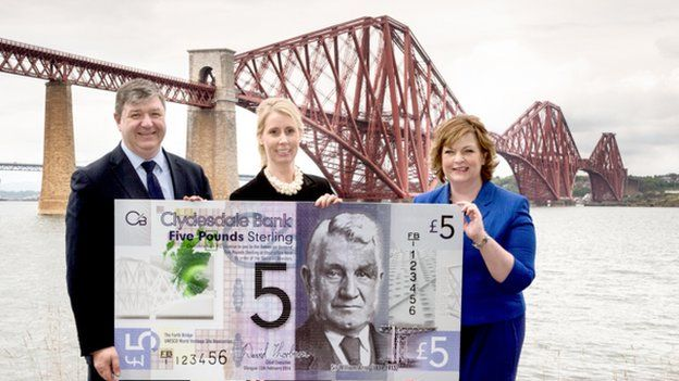 New Clydesdale Bank note unveiled