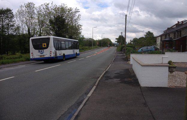 Bus in Dyfed Powys
