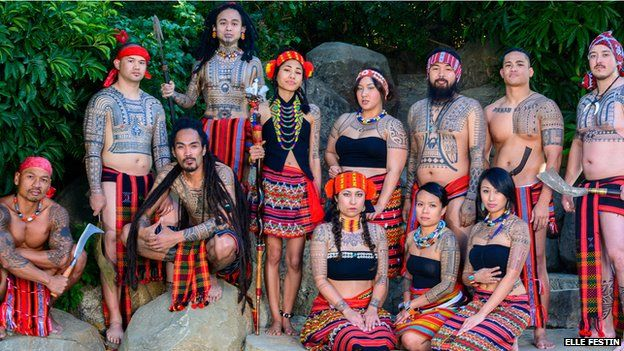 Reviving the art of Filipino tribal tattoos - BBC News
