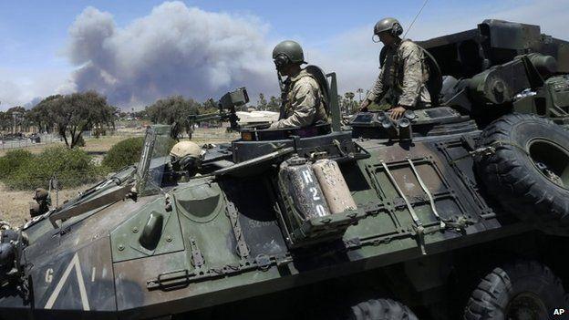 US Marines in California (16 May 2014)