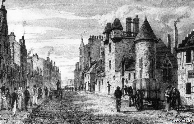 Gorbals 1800s