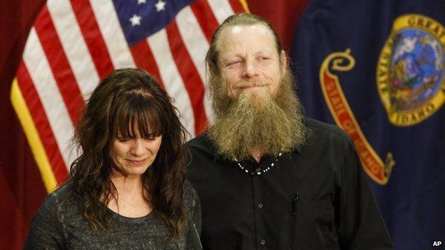 Jani and Robert Bergdahl (1 June 2014)