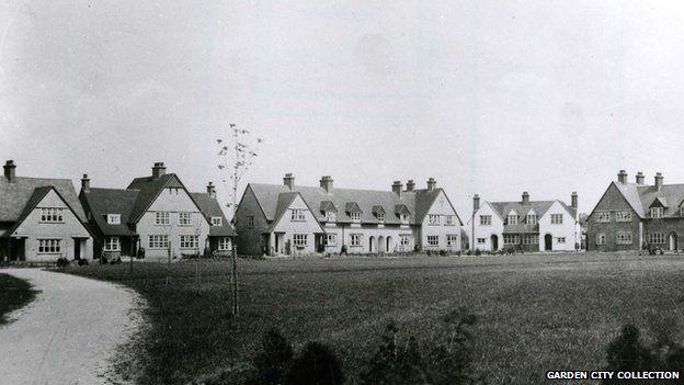 Houses in Westholm, Letchworth