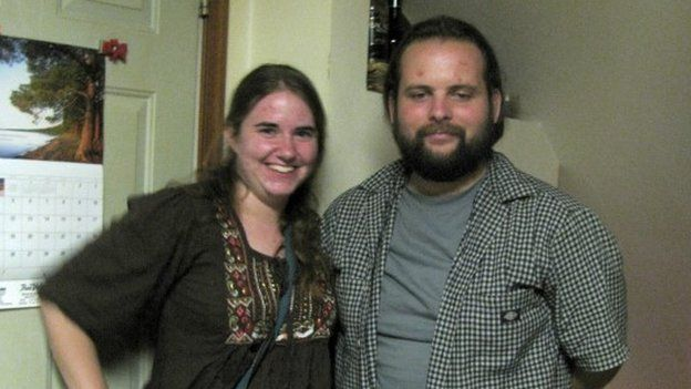 This undated handout photo provided by the Coleman family shows Caitlan Coleman and Joshua Boyle.