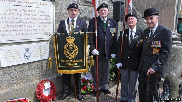 Sherwood Rangers unveil new plaque