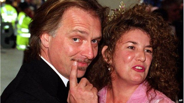 Rik and Barbara Mayall