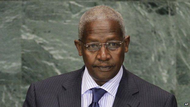 Uganda's Foreign Minister Sam Kutesa appeared in New York on 21 September 2010