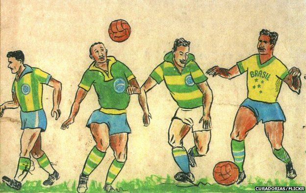 1b16867abfe The story of Brazil s  sacred  yellow and green jersey - BBC News