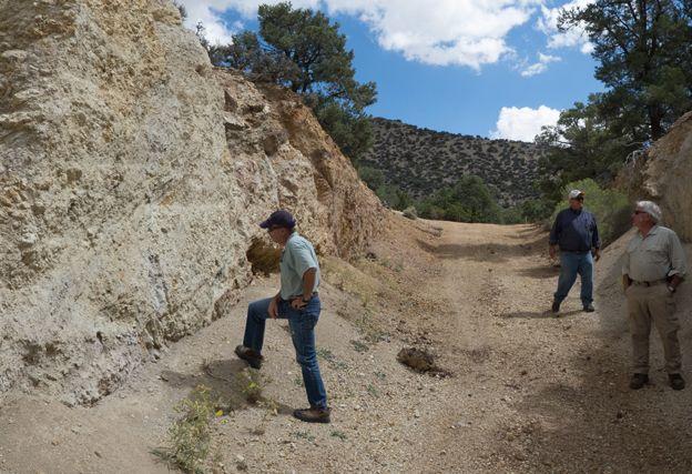 Vanadium mine, Nevada