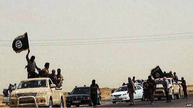 Still purporting to show ISIS militants in the Salahuddin province (14 June 2014)