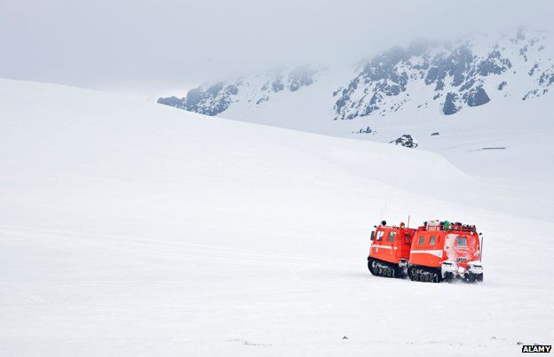 Icelandic search and rescue team