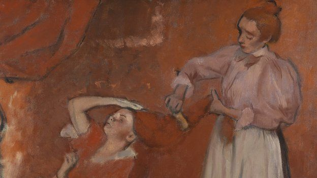 Edgar Degas's Combing the Hair (La Coiffure)