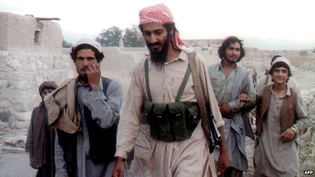 Osama bin Laden in Afghanistan - date unknown