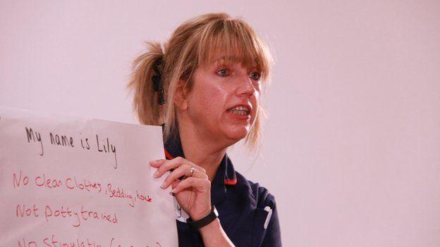 Community midwife Wendy Warrington