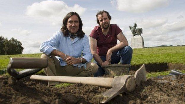 Tony Pollard and Neil Oliver