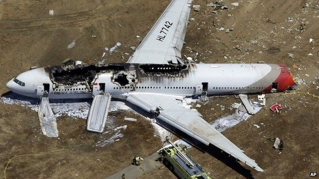 Asiana flight 214: Crew 'over-relied' on automation - BBC News