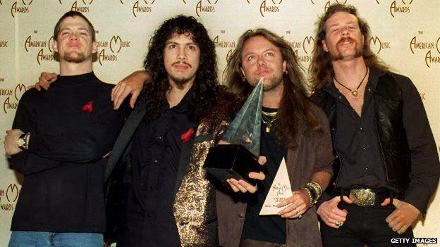 Metallica in 1993