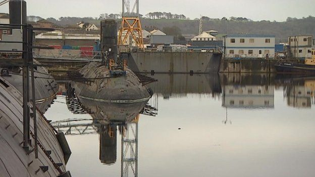 Devonport: Living next to a nuclear submarine graveyard