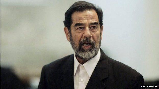 Saddam Hussein on trial (2006)
