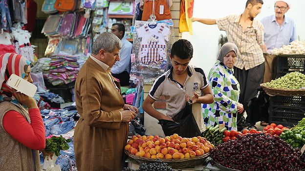 Market in Irbil