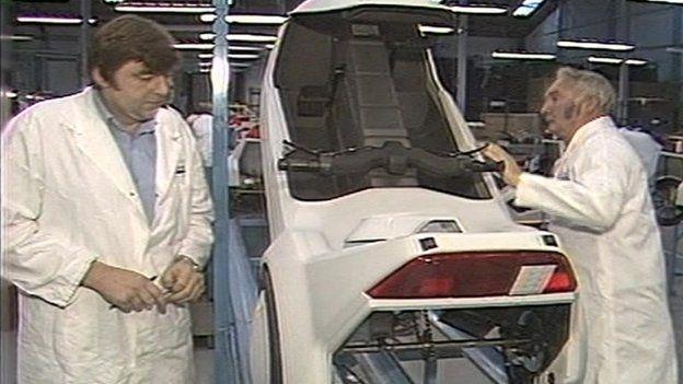 Sinclair C5 vehicle factory in Merthyr