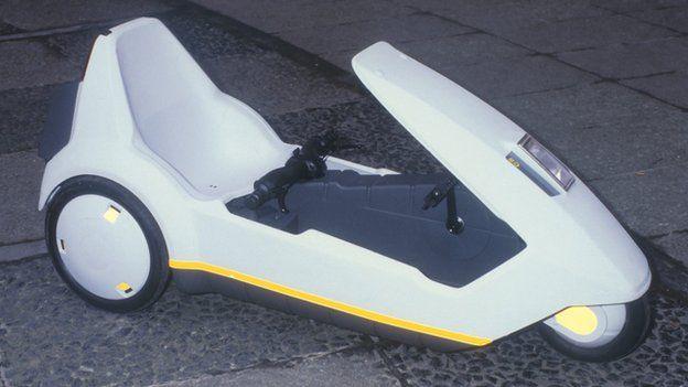 Sinclair C5 vehicle