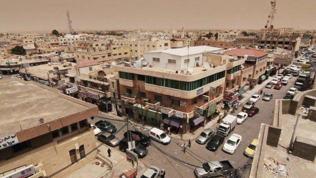 The city of Mafraq