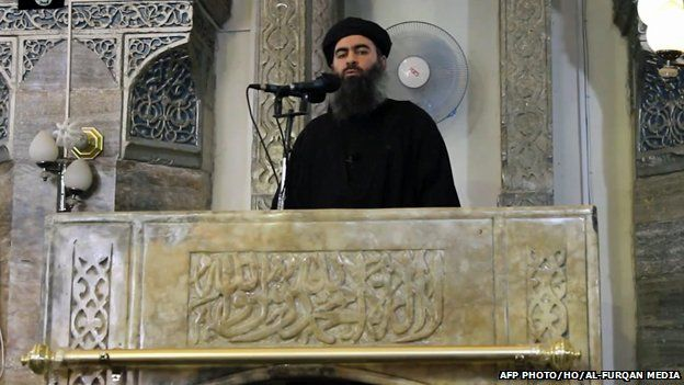 Abu Bakr Al-Baghdadi in Mosul