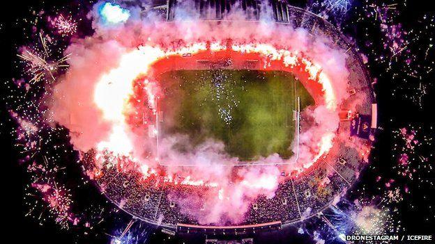 Stadium in Sofia, Bulgaria