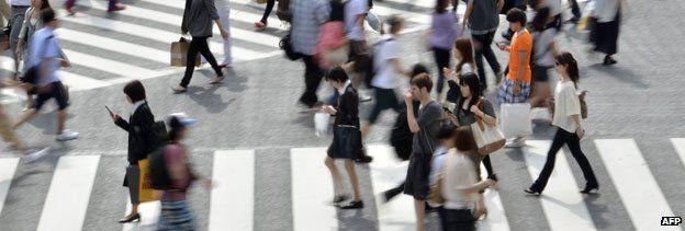 Shibuya crossing in 2011